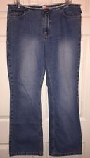 Tommy Hilfiger Womens (Frayed Waist Hipster) Flared Jeans, Size 13, Ins 31