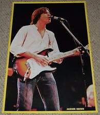 JACKSON BROWN In Concert Fender Stratocaster Guitar Poster 1979 Holland
