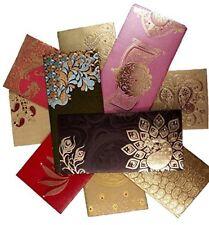 NEXXA Shagun Gift Envelope (Pack of 10+2 Free) Assorted Color Designs Money card