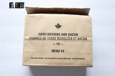 #03 Canadian Forces  IMP MRE Ration Canada Army(Meals Ready-to-eat)