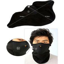 1x Ski Neck Face Warmer Soft Mask Warm Sport Motorcycle Bike Biker Veil Neoprene