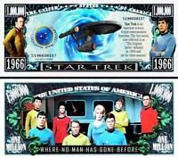 STAR TREK Billet MILLION DOLLAR! ENTERPRISE Vaisseau Spatial SPOCK Leonard Nimoy