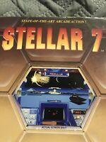 1990 Stellar 7 Dynamix MS-DOS Tandy big box game