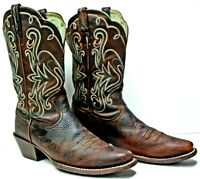 Ariat Women's Legend Boots size 8.5B Brown Oiled Leather Rowdy PB