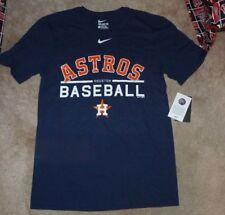 NEW NIKE MLB Houston Astros Baseball T Shirt Men S Small Navy Blue NEW NWT