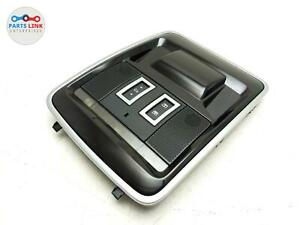 2013-2017 RANGE ROVER L405 FRONT OVERHEAD DOME LIGHT SUNROOF SWITCH CONSOLE L494