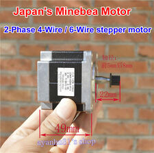 Minebea NEMA23 57mm Stepper Motor 2-Phase 4-Wire/ 6-Wire 1.8 Degree Large Torque