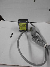 STANCOR P-8630 STEPDOWN TRANSFORMER 220 VOLTS TO 110 VOLTS AC WITH CORDS