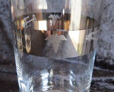 Medical Doctor MCM Glassware Physician Caduceus & Instruments Silver Band
