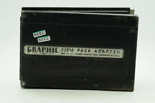 Graphic Film Pack Adapter 4x5 by Graflex                                    #228