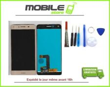 Ecran LCD + Vitre Tactile pour HUAWEI Y5-2 (CUN-L01 L03) gold/or +outils + Colle