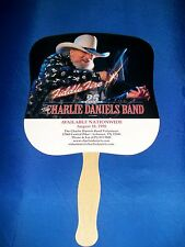 CHARLIE DANIELS' BAND 25th Anniversary CARDBOARD FAN-Country Music Collectable