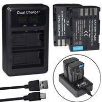 DMW-BLF19E Battery  or LCD charger For Panasonic Lumix DMC-GH3 DMW-GH4 DMW-GH5