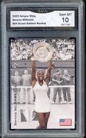 2003 Serena Williams Netpro Elite Rookie Gem Mint 10 #S4