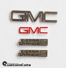 GMC Sierra Embleme für Tamiya Clod Buster Fall Guy Ein Colt für alle Fälle 1:10