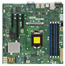 Supermicro X11SSL Motherboard microATX Xeon E3-1200 C232 FULL WARRANTY