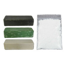 Stainless Steel Polishing Compound Bars (100gms each). Free bag Vienna Lime