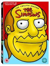 The Simpsons: Complete Season 12 DVD (2009) Matt Groening cert 12 9 discs