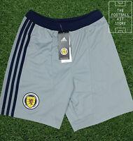 Scotland Goalkeeper Shorts - Official Adidas Boys Football Shorts - All Sizes