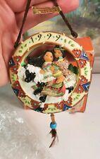 Friends Of the Feather Enesco Ornament 550612 Love Reins Box Karen Hahn 1999 1B