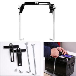 Car Storage Battery Holder Adjustable Stabilizer Rack Mount Bracket Stand 19cm