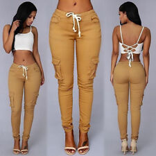 Womens Casual Jogger Dance Harem Sport Long Pants Slacks Trousers Sweatpants US