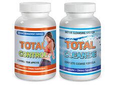 Maximum Diet Detox Fast Weight loss pills Fat Burn Total Cleanse & Control