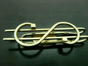 Vintage 14K Solid Yellow Gold Dollar Sign Money Clip