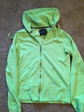 Victoria's Secret Super Model Essentials Zip Up Hoodie - Green - XS