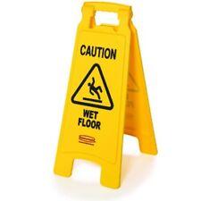 "Rubbermaid Caution Wet Floor Sign - ""Caution Wet Floor"" - 2-sided"