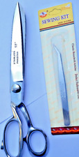 "10"" Tailor Sewing Shears Scissors Professional NEW free sowing tweezers"
