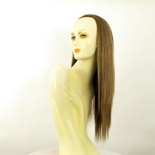 DT Half wig HairPiece extensions long light brown golden 23.6  REF :14/12