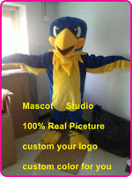 Halloween Eagle Mascot Hawk Falcon Fancy Costume Anime Kit Theme Dress Carnival
