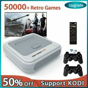 50000+ Games Super Console X Pro WIFI Video Game Console AV/HDMI 4K HD Output
