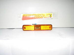 2003-2009 HUMMER H2 AMBER YELLOW FRONT SIDE MARKER LIGHT LAMP NEW GM # 25952319