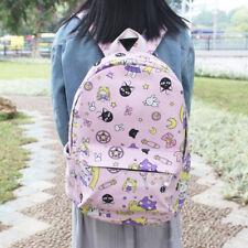 Sailor Moon Card Captor Sakura Anime Canvas Girls Travel Schoolbag Backpack New