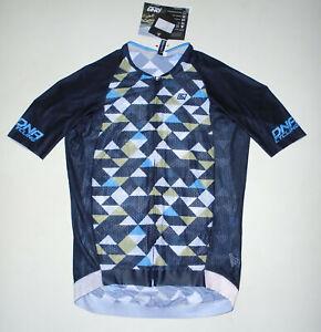 DNA Italian Cycling RACE Jersey BLACK Nero Kite Full Zip ITALY Mens NWT XXL 2X