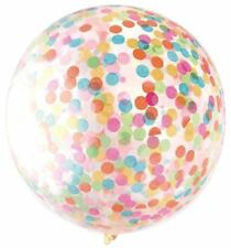 "36"" Large Confetti Balloon Inflatable Birthday Shower Wedding Hen Party Decor"