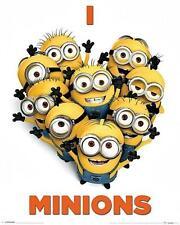 Despicable Me 2 : I Love Minions - Mini Poster 40cm x 50cm (new & sealed)