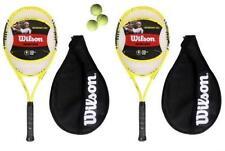 Raquettes de tennis jaune