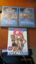 3 Total Gym Dvd'S, Sealed See Below For Names