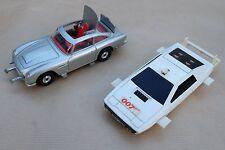 corgy toys, lot 2 voitures 007 james Bond, Aston Martin DB5, Lotus Esprit