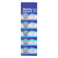 5x CR2025 3V Button Coin Cells Batteries Pack for Watch Remote Calculator Camera