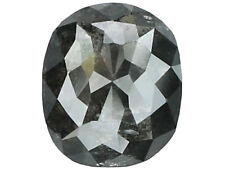 Natural Loose Diamond Black Color Oval I3 Clarity 6.20 MM 0.74 Ct N6508