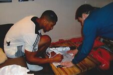 Anthony Joshua AMPRO Boxing Trunks Signed At Our Exclusive Signing AFTAL/UACC RD