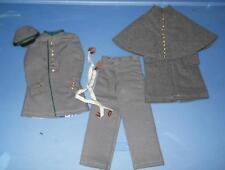 1/6 Scale Civil War Uniform LOT  with uniform - overcoat - chevrons loose