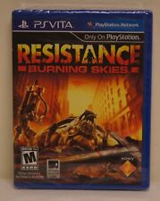New! Resistance: Burning Skies (Sony PlayStation Vita, 2012)