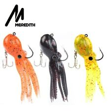 5 x Meredith Fishing Soft Lures 100mm 4.4g HD Minnow Bass Pike Sea Freshwater