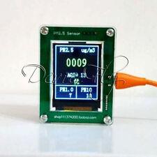 PM2.5 Laser Detector Air Quality Monitoring Dust Haze Measurement G3 Sensor TFT