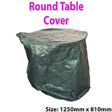 TAVOLA rotonda all'aperto COVER 1250 x 810mm-MOBILI DA GIARDINO TELONE IMPERMEABILE